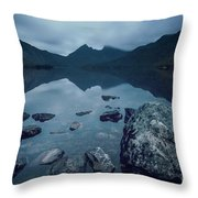 In The Light Of Dawn Throw Pillow