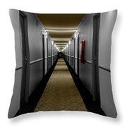 In The Long Hall Throw Pillow