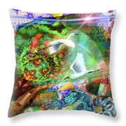 In The Magnificence Throw Pillow