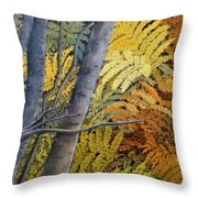 In The Maine Woods Throw Pillow