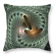 In The Mesh Throw Pillow