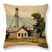 In The Middle Of Nowhere Throw Pillow