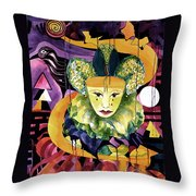 In The Midnight Hour Throw Pillow