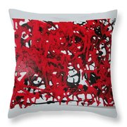 In  The Midst Of Passion Throw Pillow