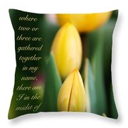 In The Midst Of Them Throw Pillow