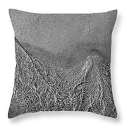 In The Moment Bw  Throw Pillow