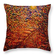 In The Moonlight Throw Pillow