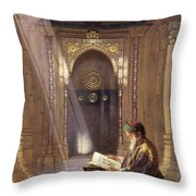 In The Mosque Throw Pillow