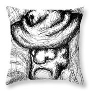 In The Mountains Of Denver Throw Pillow