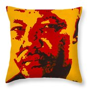 In The Name Of Peace Throw Pillow