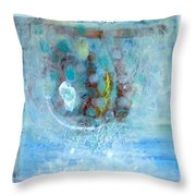 In The Name Of Rain-9 Throw Pillow