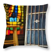 In The Neck Of Time Throw Pillow