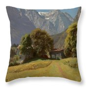 In The Nesttal Throw Pillow