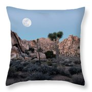 In The Nick Of Time Throw Pillow