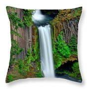 In The Open Throw Pillow