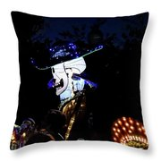 In The Park In The Dark Throw Pillow