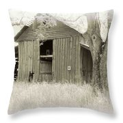 In The Pecan Orchard Throw Pillow