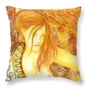 In The Perfect Place Throw Pillow