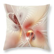 In The Pink Frac Throw Pillow