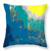 In The Rainforest Throw Pillow