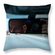 In The Road Throw Pillow
