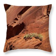 In The Rock Life Will Come Throw Pillow