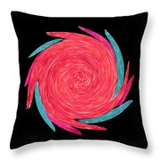 In The Rose Garden Throw Pillow
