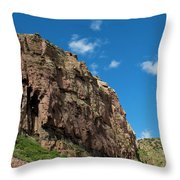 In The Royal Gorge Throw Pillow