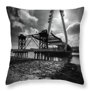 Northern Spire Bridge 4 Throw Pillow