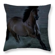 In The Shadows II Throw Pillow