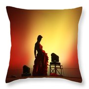 In The Shadows... Throw Pillow