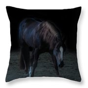 In The Shadows V Throw Pillow