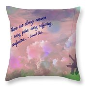 In The Sky 2016 Throw Pillow