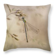 In The Small World  Throw Pillow