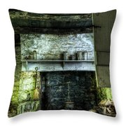 In The Springhouse Throw Pillow