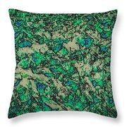 In The Stillness Of The Pond Throw Pillow