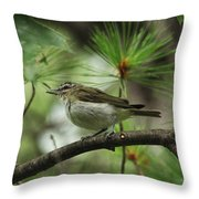 In The Treetops Throw Pillow