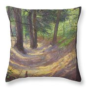 in the Vienna Woods Throw Pillow