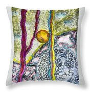 In The Woods And Swamps Throw Pillow