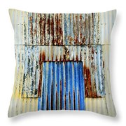 In Through The Out Door Throw Pillow