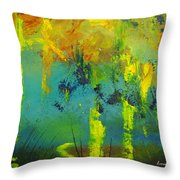 In To Abstract Throw Pillow