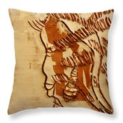 In Tune - Tile Throw Pillow