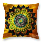 In Tune Mandala Throw Pillow