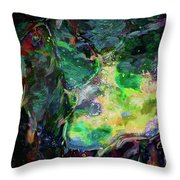 In Tune With Nature Throw Pillow