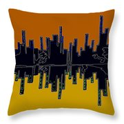 In Uniform Throw Pillow