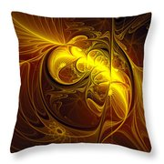 In Utero Throw Pillow