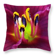 In Vein Throw Pillow