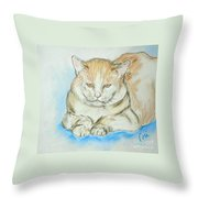 In Waiting Throw Pillow