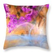 In Waiting For The Spring Throw Pillow
