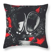In Wars Wraith Throw Pillow